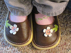 wahm toddler feet